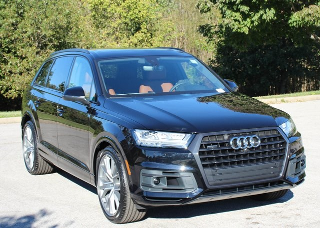 New 2019 Audi Q7 4d Sport Utility In Louisville A19113 Blue Grass