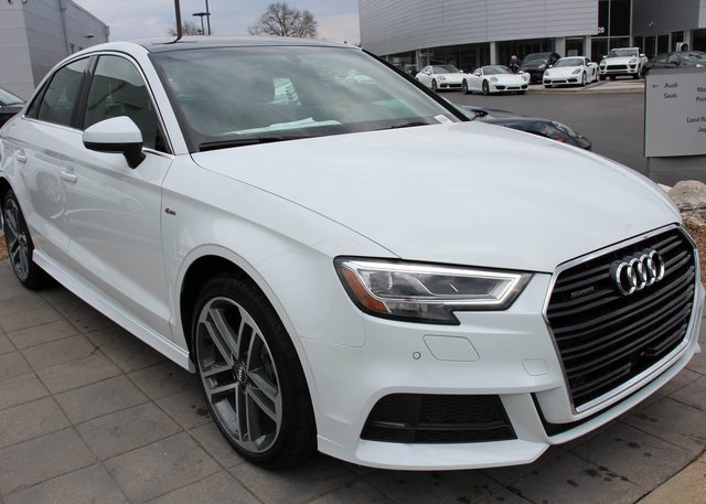 New Audi A T Premium D Sedan In Louisville A Blue - Audi a3 2018