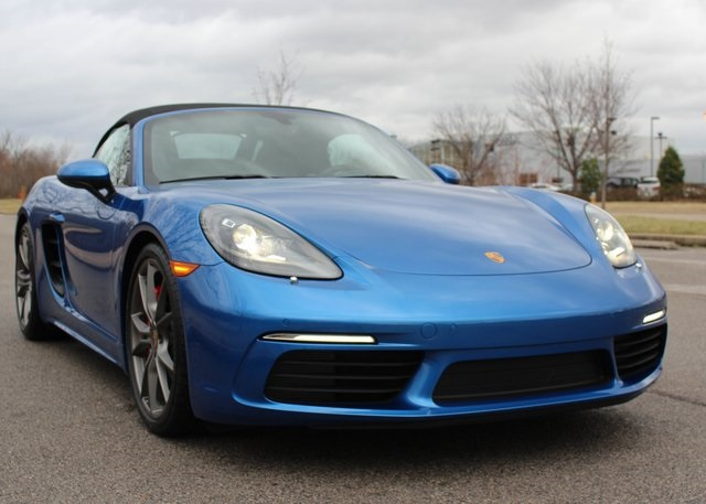 new 2017 porsche 718 boxster s 2d convertible in louisville #p17781