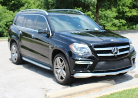 Pre-Owned 2014 Mercedes-Benz GL-Class GL 63 AMG