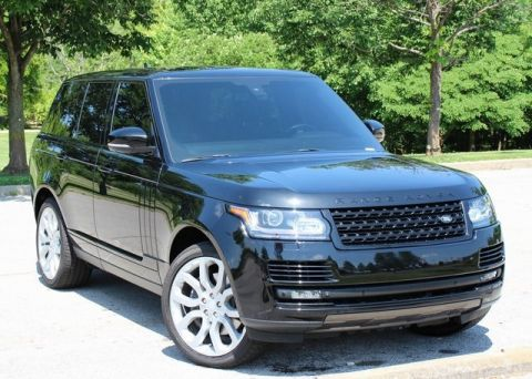 Certified Pre-Owned 2015 Land Rover Range Rover 5.0L V8 Supercharged