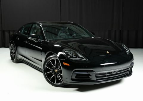 Supercars Gallery Porsche Panamera Turbo Black