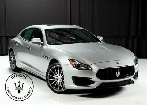 Certified Pre-Owned 2018 Maserati Quattroporte S Q4 GranSport